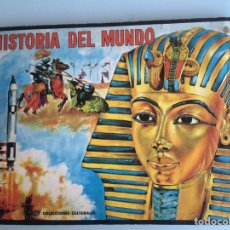 Coleccionismo Álbum: HISTORIA DEL MUNDO FHER 1968 MUY BUEN ESTADO. COMPLETO. Lote 195874728