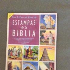 Coleccionismo Álbum: UN LIBRO DE ORO DE ESTAMPAS DE LA BIBLIA. ED. NO ARO. MEXICO. 1959. Lote 195875475