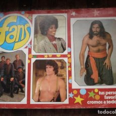 Coleccionismo Álbum: ALBUM COMPLETO FANS Y CON TRES DOBLES. Lote 196349432