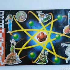 Coleccionismo Álbum: ÁLBUM COMPLETO CROMHISTORIA, MAGA ( 216 CROMOS - 1967 ). Lote 196990656