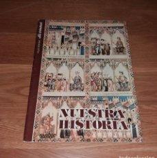 Coleccionismo Álbum: ÁLBUM DE CROMOS NUESTRA HISTORIA (REGIÓN DE MURCIA). LA VERDAD Y CAM, 1980, COMPLETO. Lote 197245623
