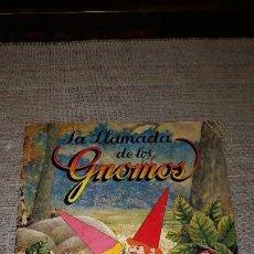 Colecionismo Caderneta: LA LLAMADA DE LOS GNOMOS. PANINI. ALBUM DE CROMOS COMPLETO. Lote 197399391
