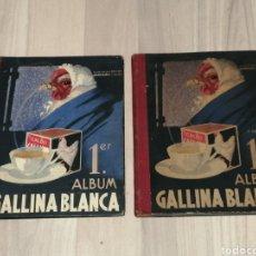 Coleccionismo Álbum: ÀLBUMES 1ER ALBUM GALLINA BLANCA PRIMERA Y TERCERA EDICION COMPLETOS . DIFERENTES. Lote 197529133