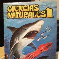 Coleccionismo Álbum: ALBUM DE CROMOS COMPLETO CIENCIAS NATURALES 1. DISTRIBUCIONES EASO. Lote 197563791