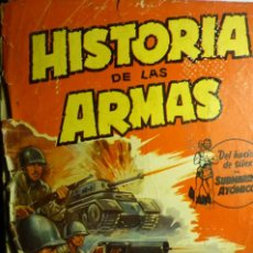 Coleccionismo Álbum: ALBUM HISTORIA DE LAS ARMAS.-120 CROMOS EDIC.CRISOL. Lote 198151388