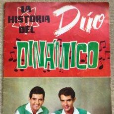 Coleccionismo Álbum: ÁLBUM LA HISTORIA DEL DÚO DINÁMICO - EDICIONES ESTE - AÑO 1964 (COMPLETO). Lote 198556738