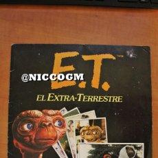 Coleccionismo Álbum: ALBUM COMPLETO ET EL EXTRA TERRESTRE EDICIONES ESTE AÑO 1982 VER FOTOS . Lote 198714793