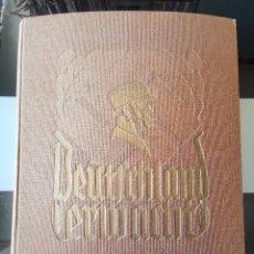 Coleccionismo Álbum: ALBUM CROMOS DEUTSCHLAND ERWACHE TERCER REICH 1933 HASTA LA II GUERRA MUNDIAL ALEMANIA NAZI. Lote 198764030