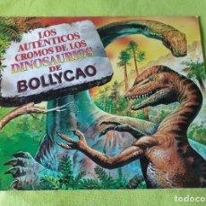 Coleccionismo Álbum: COLECCION COMPLETA SIN PEGAR--BOLLYCAO LOS AUNTENTICOS CROMOS DE LOS DINOSAURIOS (1993) . Lote 198945518
