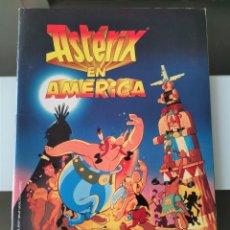 Coleccionismo Álbum: ÁLBUM CROMOS ASTÉRIX EN AMÉRICA ED. PANINI. Lote 199002291