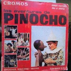Coleccionismo Álbum: ÁLBUM CROMOS LAS AVENTURAS DE PINOCHO COMPLETO ED. VULCANO PANINI 1972. Lote 199176946