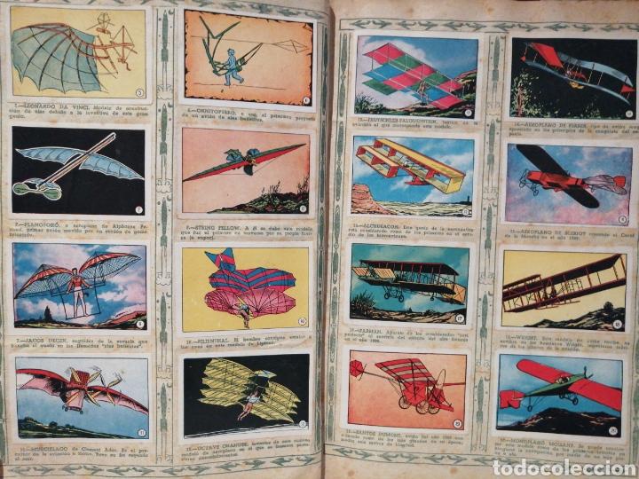 Coleccionismo Álbum: Album de cromos Completo AVIACION de 1900 a 1950 Ed. Clipper - Foto 3 - 199661132