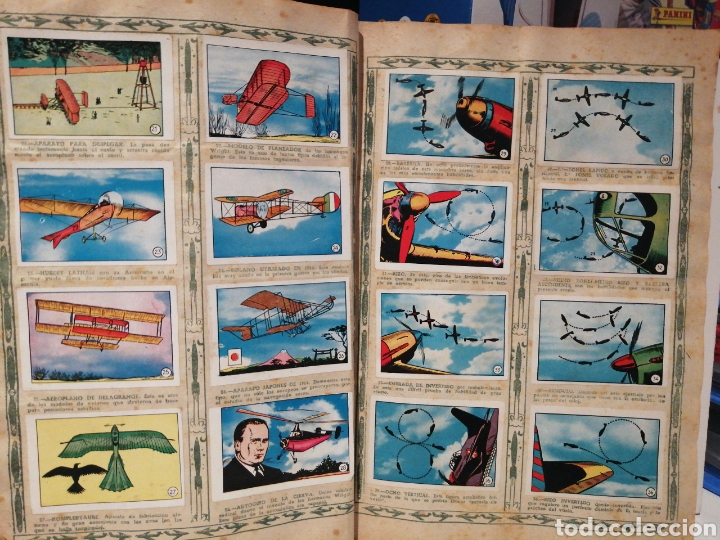 Coleccionismo Álbum: Album de cromos Completo AVIACION de 1900 a 1950 Ed. Clipper - Foto 4 - 199661132