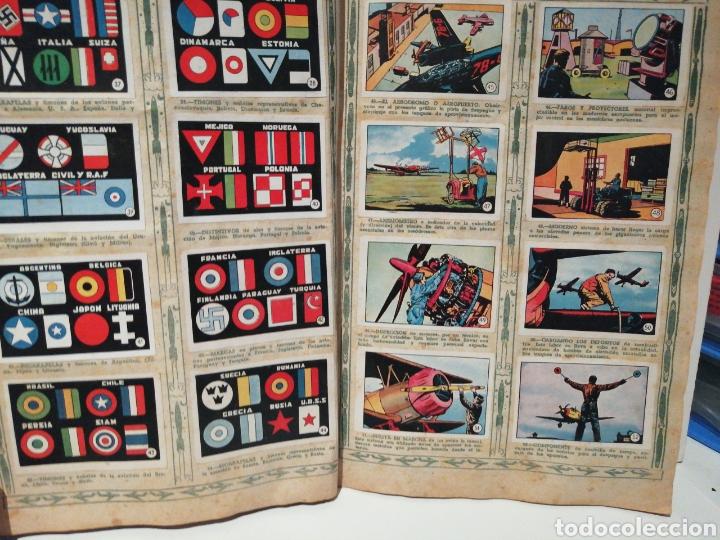 Coleccionismo Álbum: Album de cromos Completo AVIACION de 1900 a 1950 Ed. Clipper - Foto 5 - 199661132