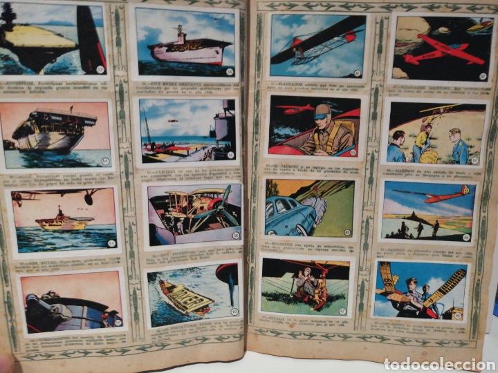 Coleccionismo Álbum: Album de cromos Completo AVIACION de 1900 a 1950 Ed. Clipper - Foto 6 - 199661132