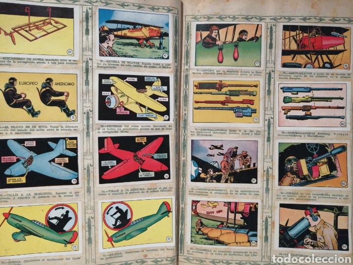 Coleccionismo Álbum: Album de cromos Completo AVIACION de 1900 a 1950 Ed. Clipper - Foto 7 - 199661132