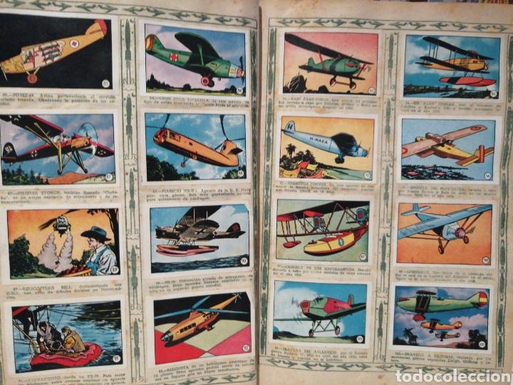 Coleccionismo Álbum: Album de cromos Completo AVIACION de 1900 a 1950 Ed. Clipper - Foto 8 - 199661132