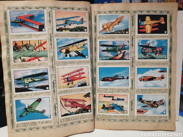 Coleccionismo Álbum: Album de cromos Completo AVIACION de 1900 a 1950 Ed. Clipper - Foto 10 - 199661132