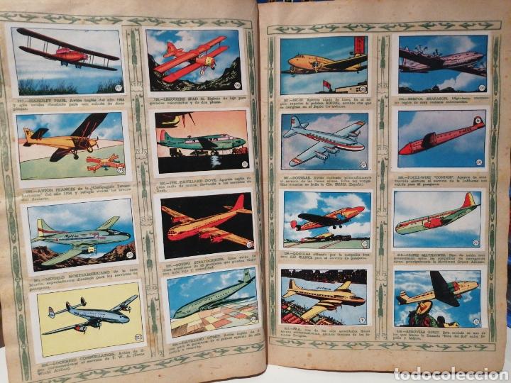 Coleccionismo Álbum: Album de cromos Completo AVIACION de 1900 a 1950 Ed. Clipper - Foto 15 - 199661132