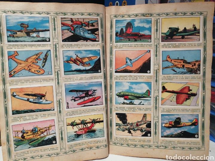 Coleccionismo Álbum: Album de cromos Completo AVIACION de 1900 a 1950 Ed. Clipper - Foto 16 - 199661132