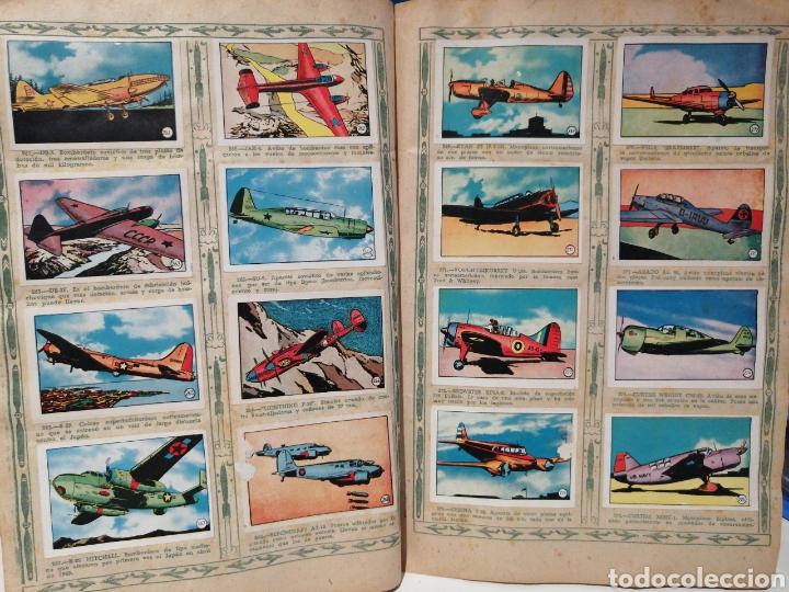 Coleccionismo Álbum: Album de cromos Completo AVIACION de 1900 a 1950 Ed. Clipper - Foto 19 - 199661132