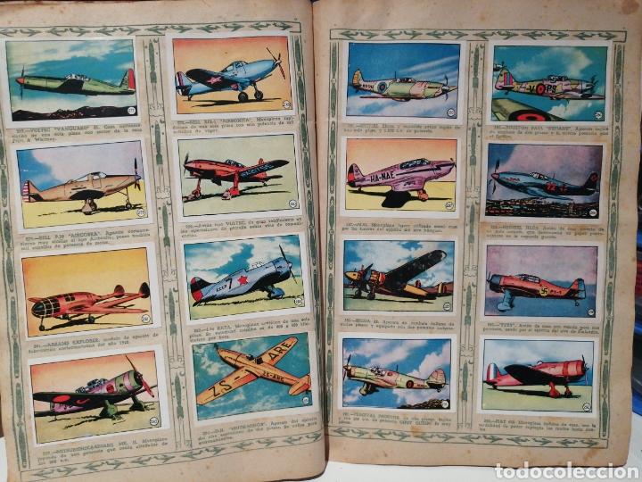 Coleccionismo Álbum: Album de cromos Completo AVIACION de 1900 a 1950 Ed. Clipper - Foto 20 - 199661132