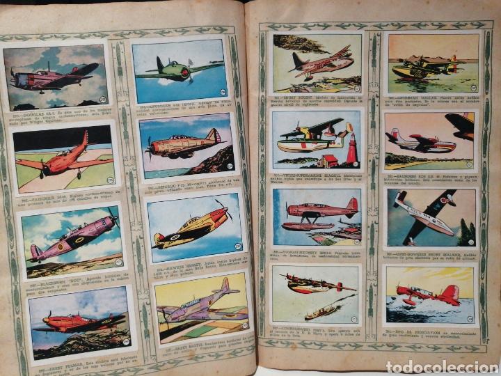 Coleccionismo Álbum: Album de cromos Completo AVIACION de 1900 a 1950 Ed. Clipper - Foto 21 - 199661132