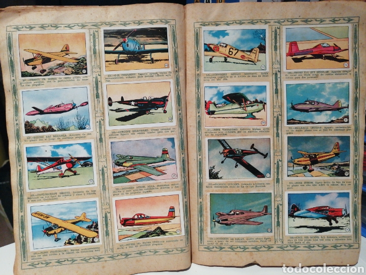 Coleccionismo Álbum: Album de cromos Completo AVIACION de 1900 a 1950 Ed. Clipper - Foto 23 - 199661132