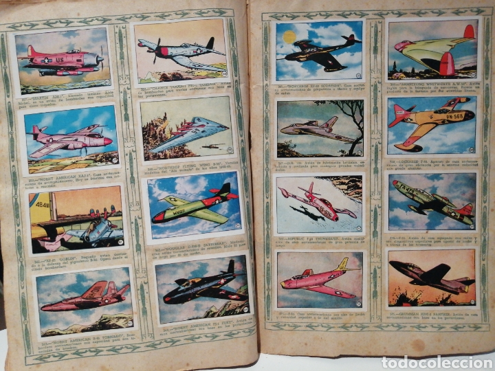 Coleccionismo Álbum: Album de cromos Completo AVIACION de 1900 a 1950 Ed. Clipper - Foto 25 - 199661132
