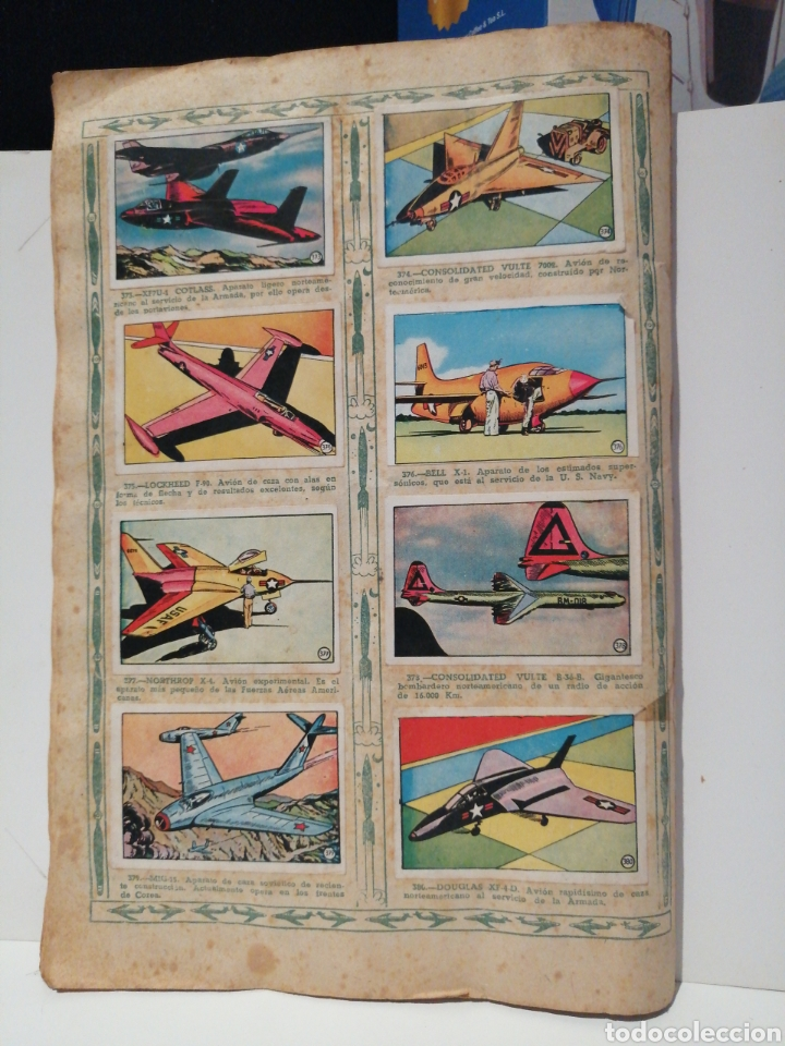Coleccionismo Álbum: Album de cromos Completo AVIACION de 1900 a 1950 Ed. Clipper - Foto 26 - 199661132