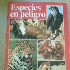 Coleccionismo Álbum: ESPECIES EN PELIGRO DE EXTINCION - URBION - PERFECTO . Lote 199823553