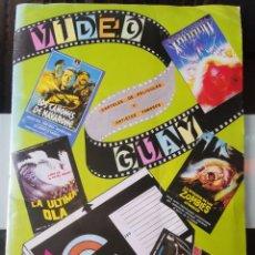 Coleccionismo Álbum: ÁLBUM CROMOS VIDEO GUAY ED. DALSA COMPLETO MBE. Lote 199865883