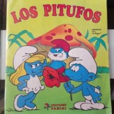 Coleccionismo Álbum: ALBUM CROMOS ED. PANINI CROMO CROM - LOS PITUFOS - THE SMURFS COMPLETO MBE. Lote 199867995