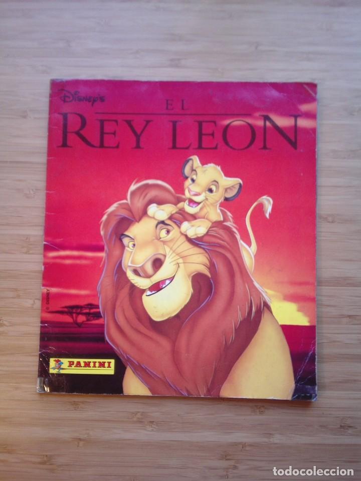 EL REY LEON - ALBUM COMPLETO - EDITORIAL PANINI - GORBAUD (Coleccionismo - Cromos y Álbumes - Álbumes Completos)