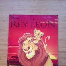 Coleccionismo Álbum: EL REY LEON - ALBUM COMPLETO - EDITORIAL PANINI - GORBAUD . Lote 200046731