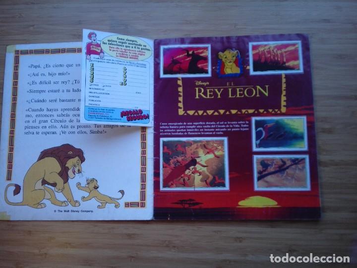 Coleccionismo Álbum: EL REY LEON - ALBUM COMPLETO - EDITORIAL PANINI - GORBAUD - Foto 3 - 200046731