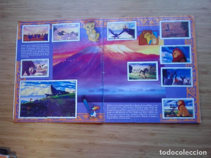 Coleccionismo Álbum: EL REY LEON - ALBUM COMPLETO - EDITORIAL PANINI - GORBAUD - Foto 4 - 200046731