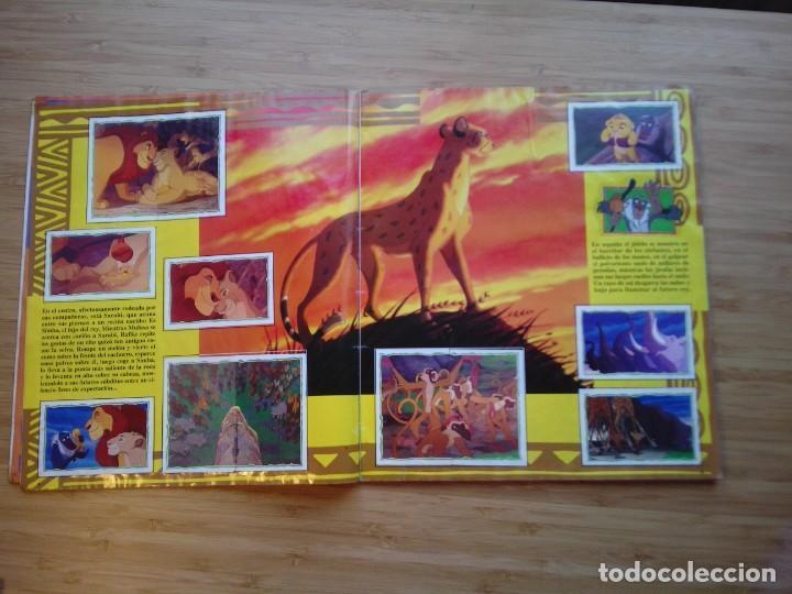 Coleccionismo Álbum: EL REY LEON - ALBUM COMPLETO - EDITORIAL PANINI - GORBAUD - Foto 5 - 200046731