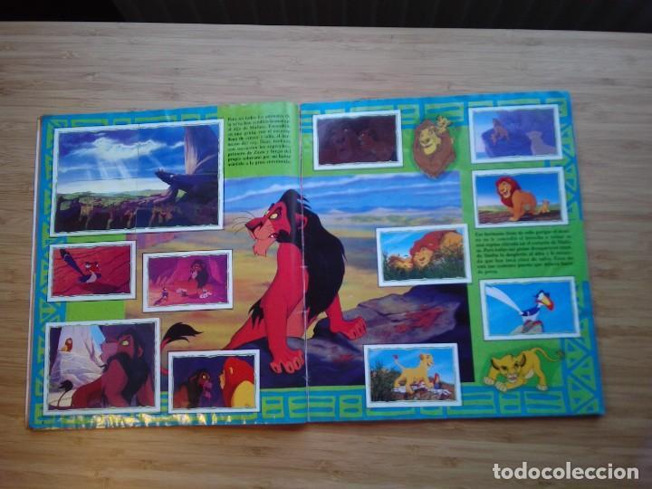 Coleccionismo Álbum: EL REY LEON - ALBUM COMPLETO - EDITORIAL PANINI - GORBAUD - Foto 6 - 200046731