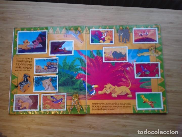 Coleccionismo Álbum: EL REY LEON - ALBUM COMPLETO - EDITORIAL PANINI - GORBAUD - Foto 7 - 200046731