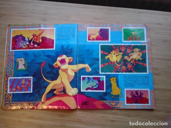 Coleccionismo Álbum: EL REY LEON - ALBUM COMPLETO - EDITORIAL PANINI - GORBAUD - Foto 8 - 200046731