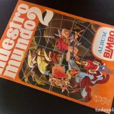 Coleccionismo Álbum: NUESTRO MUNDO 2 BIMBO. Lote 200098001