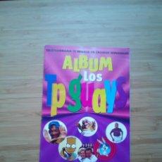 Coleccionismo Álbum: ALBUM LOS TP GUAYS - A FALTA DE UN CROMO - CASI COMPLETO - MUY BUEN ESTADO - GORBAUD. Lote 200117555