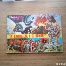 Coleccionismo Álbum: LA NATURALEZA Y EL HOMBRE - ALBUM MAGA CROMOS - COMPLETO - BUEN ESTADO - - GORBAUD. Lote 200149080