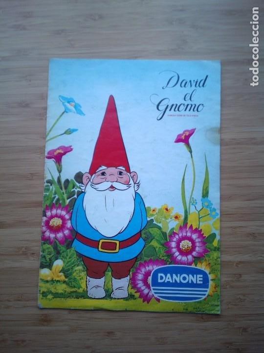 DAVID EL GNOMO - DANONE - ALBUM DE CROMOS - COMPLETO - GORBAUD (Coleccionismo - Cromos y Álbumes - Álbumes Completos)