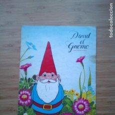 Coleccionismo Álbum: DAVID EL GNOMO - DANONE - ALBUM DE CROMOS - COMPLETO - GORBAUD. Lote 200151656