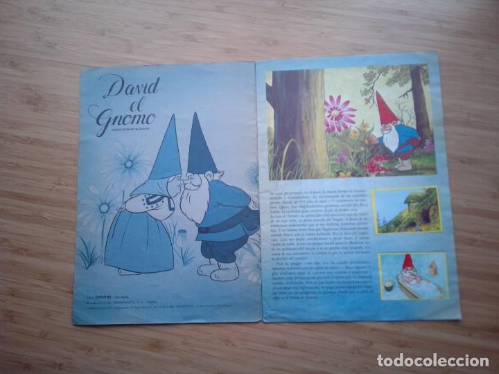 Coleccionismo Álbum: DAVID EL GNOMO - DANONE - ALBUM DE CROMOS - COMPLETO - GORBAUD - Foto 3 - 200151656