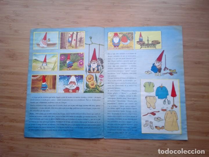 Coleccionismo Álbum: DAVID EL GNOMO - DANONE - ALBUM DE CROMOS - COMPLETO - GORBAUD - Foto 4 - 200151656