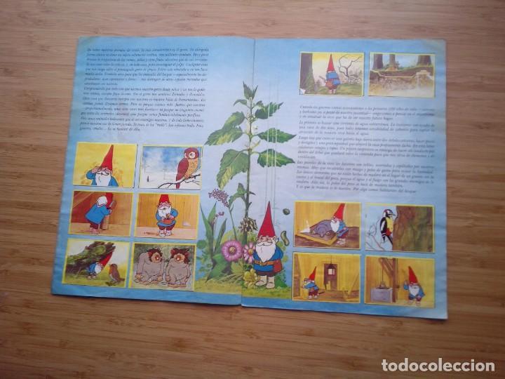 Coleccionismo Álbum: DAVID EL GNOMO - DANONE - ALBUM DE CROMOS - COMPLETO - GORBAUD - Foto 5 - 200151656