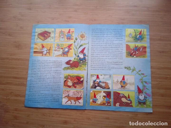 Coleccionismo Álbum: DAVID EL GNOMO - DANONE - ALBUM DE CROMOS - COMPLETO - GORBAUD - Foto 7 - 200151656